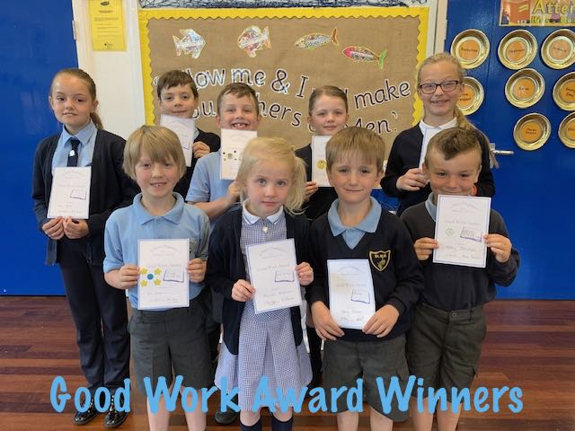 Good Work Award Winners